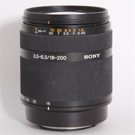 Used Sony DT 18-200mm f/3.5-6.3 Image 1