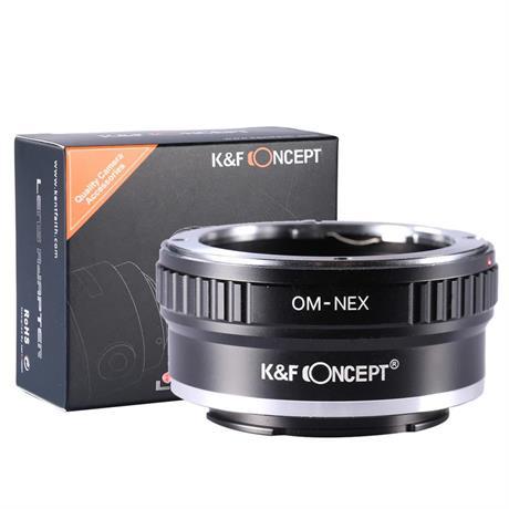 K&F Olympus OM Lenses to Sony E Mount Camera Adapter