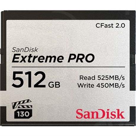 SanDisk Extreme Pro 512GB CFast 2.0 Image 1