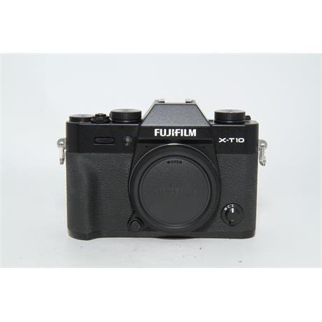 Fujifilm Used Fuji X-T10 Body Black Image 1