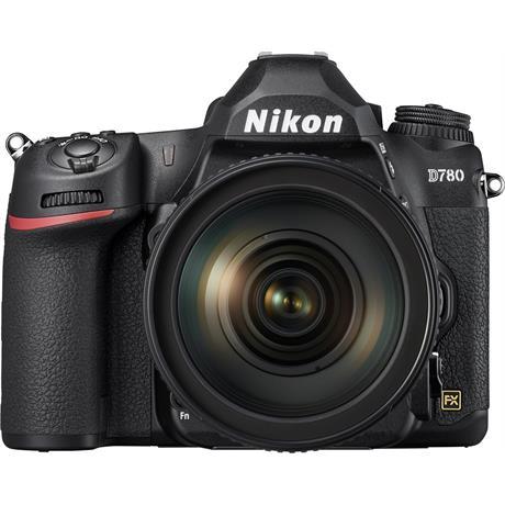 Nikon D780 DSLR Camera Body with Nikon AF-S Nikkor 24-120mm f/4G ED VR Zoom Lens Image 1