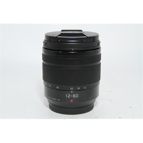 Used Panasonic 12-60mm f3.5-5.6 Lens Image 1