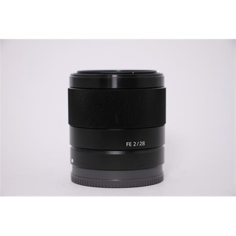 Used Sony 28mm F/2 FE Image 1