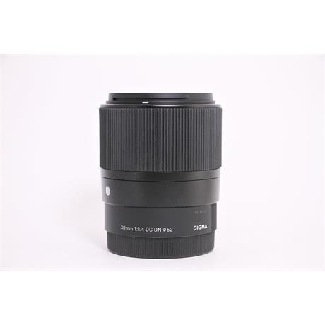 Used Sigma 30mm F/1.4 DC DN C E-Mount Image 1