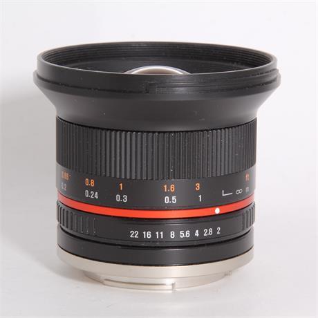 Used Samyang 12mm f/2 - Sony-E Image 1