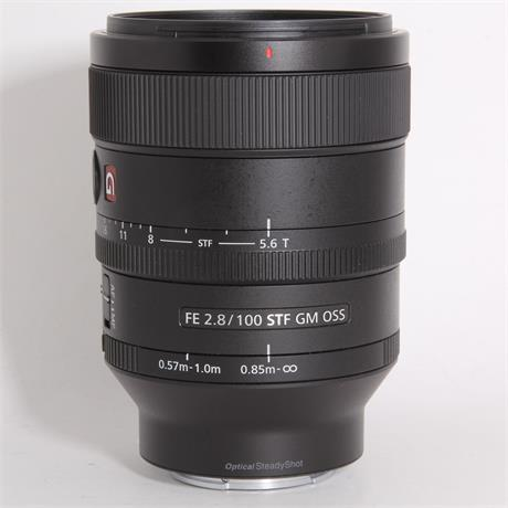 Used Sony 100mm f/2.8 STF GM OSS (FE) Image 1