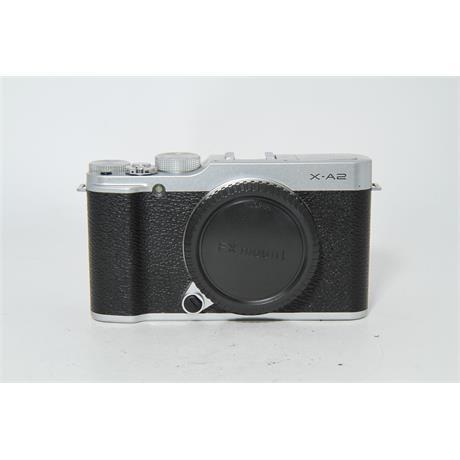 Fujifilm Used Fuji X-A2 Body Silver Image 1