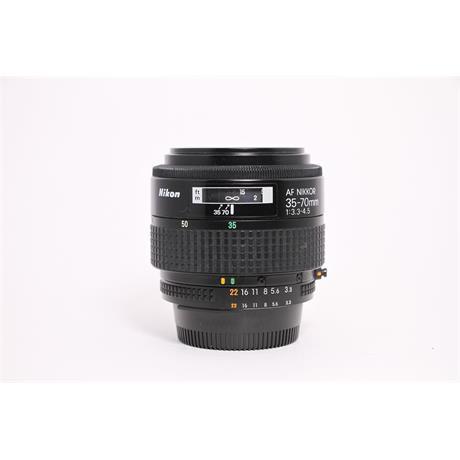 Used Nikon 35-70mm F/3.3-4.5 AI-S  Image 1