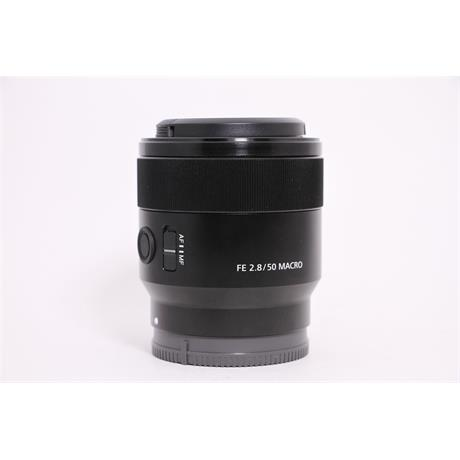 Used Sony 50mm F/2.8 Macro FE Image 1
