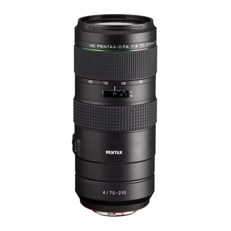 New HD Pentax-D FA 70-210mm f/4 ED SDM WR Telephoto Lens