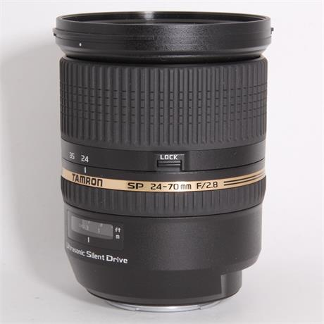 Used Tamron 24-70mm f/2.8 DI USD - Sony A Mount Image 1