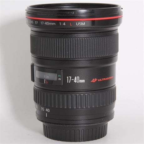 Used Canon 17-40mm f/4L USM Image 1