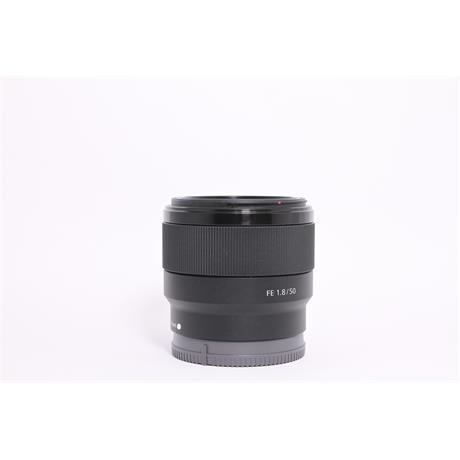 Used Sony 50mm F/1.8 FE Image 1