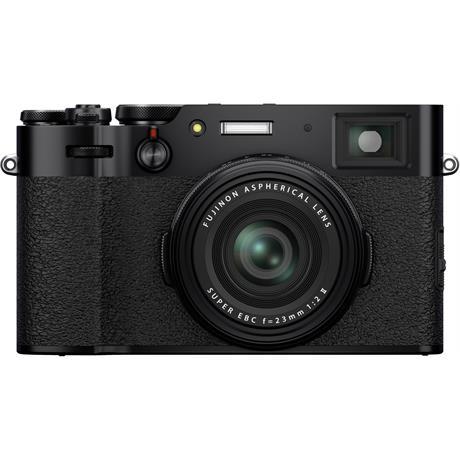 Fujifilm X100V Compact Digital Camera Black Image 1
