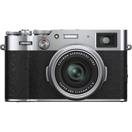 Fujifilm X100V Compact Digital Camera Silver Image 1