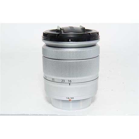 Fujifilm Used Fuji XC 16-50 f3.5-5.6 Lens Silver Image 1
