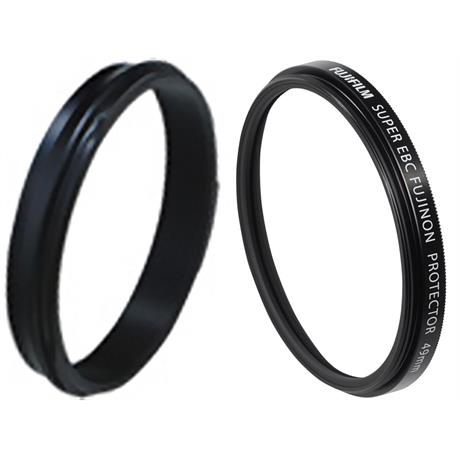 Fujifilm Weather-Resistant Kit X100V Black (Adaptor Ring and Protector Filter) Image 1