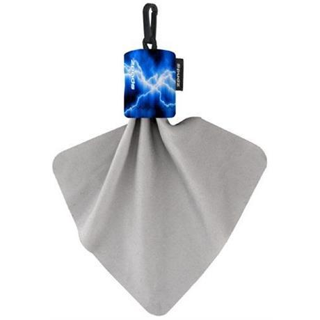 Spudz 6x6 Inch Micro-Fibre Cloth (Blue Lightning) Image 1