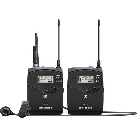 Sennheiser EW 122P G4 Wireless Lavalier Microphone Kit