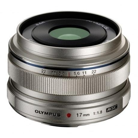 Olympus M.Zuiko Digital 17mm f/1.8 Lens - Silver Image 1