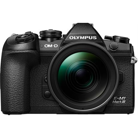 Olympus OM-D E-M1 MK III Camera With 12-40mm f/2.8 PRO Lens Kit Image 1