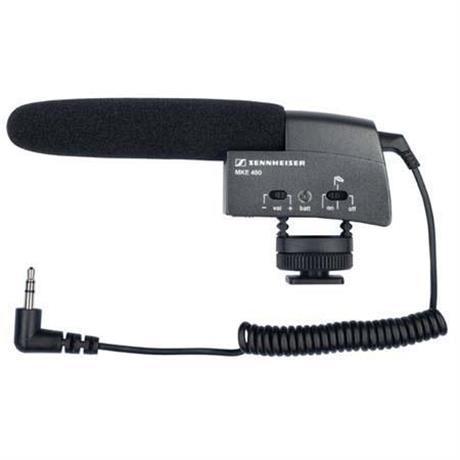 Sennheiser MKE 400 Compact Shotgun Microphone