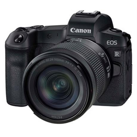 Canon EOS R Mirrorless Camera + 24-105mm f/4-7.1 Lens Kit Image 1