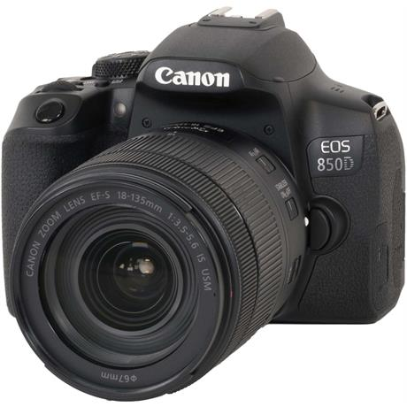 Canon EOS 850D DSLR With 18-135mm Lens Kit Image 1