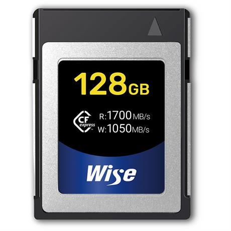Wise Advanced 128GB CFexpress Memory Card Image 1