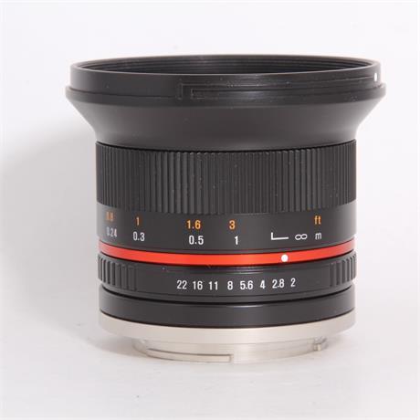 Used Samyang 12mm f/2 NCS - Sony E Image 1