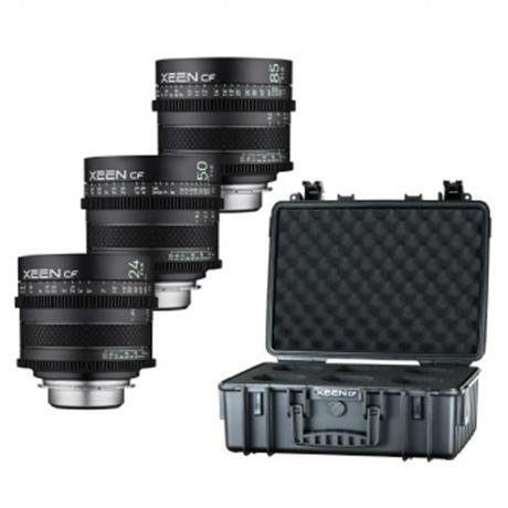 Samyang XEEN CF Cinema Lens Kit 24/50/85 Image 1