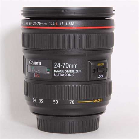 Used Canon 24-70mm f/4L IS USM Image 1