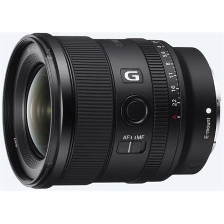 Sony FE 20mm f/1.8 G Ultra Wide Angle Prime Lens