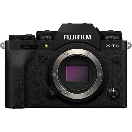 Fujifilm X-T4 Mirrorless Camera Body Black Image 1