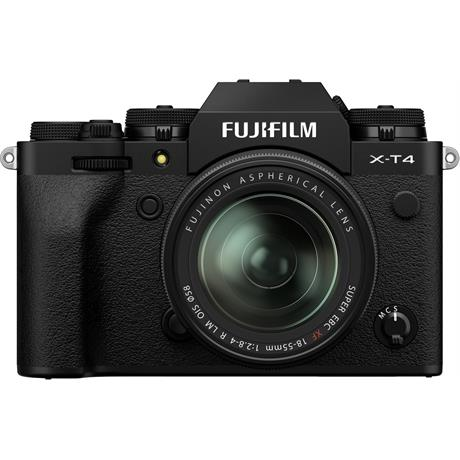 Fujifilm X-T4 Mirrorless Camera With XF 18-55mm f/2.8-4 Lens Kit Black Image 1