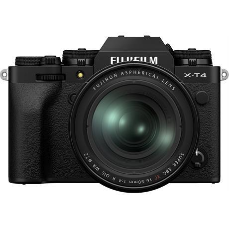 Fujifilm X-T4 Mirrorless Camera With XF 16-80mm f/4 Lens Kit Black Image 1