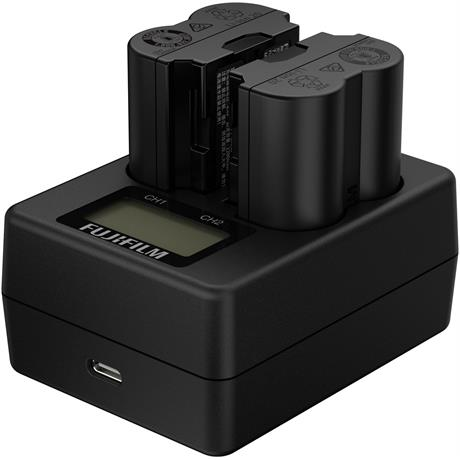 Fujifilm BC-W235 Dual Battery Charger Image 1