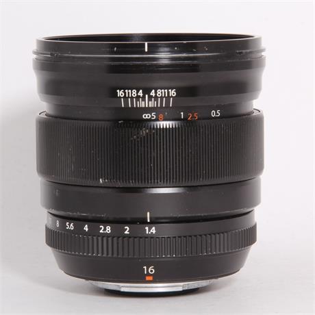 Used Fujifilm 16mm f/1.4 R WR Image 1