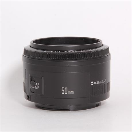 Used Canon 50mm f/1.8 II Image 1