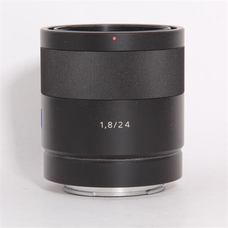 Used Sony 24mm F/1.8 ZA Sonnar T* (E) Image 1