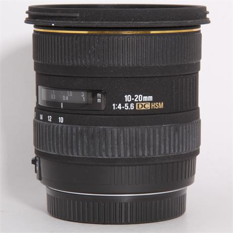 Used Sigma 10-20mm f/4-5.6 EX DC HSM - Canon Image 1