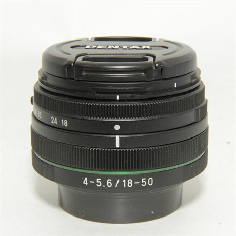 Used Pentax 18-50mm f4-5.6 DC WR RE Lens Image 1