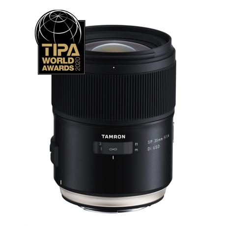 Tamron SP 35mm f/1.4 Di USD Lens - Canon EF Mount Image 1