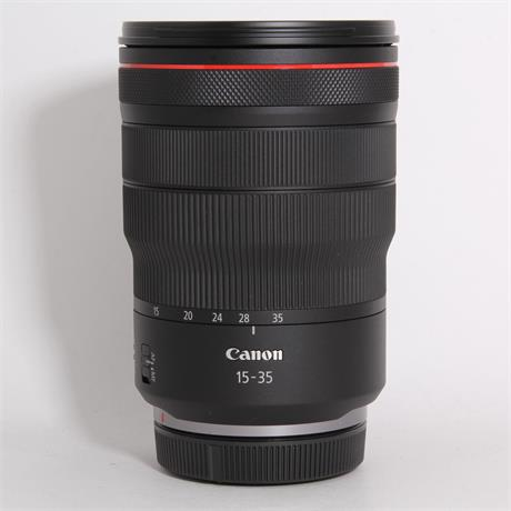 Used Canon 15-35mm f/2.8L IS USM (RF) Image 1