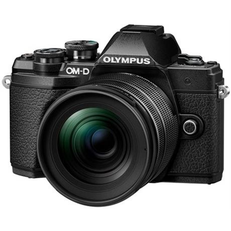 Olympus OM-D E-M5 III camera with 12-45 lens kit Black Image 1