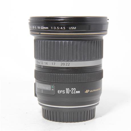Used Canon 10-22mm F/3.5-4.5 USM Image 1
