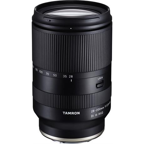The new Tamron 28-200mm F2.8-5.6 for Sony FE will be available from end of June.
