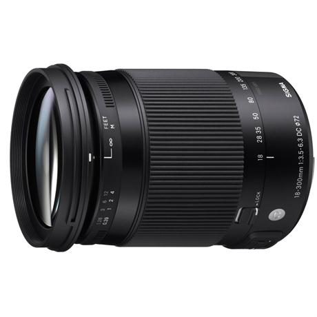 Sigma 18-300mm f/3.5-6.3 DC Macro OS HSM Contemporary Lens - Canon Fit Image 1
