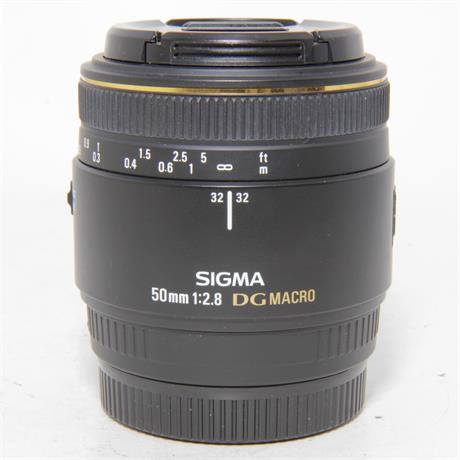 Used Sigma 50mm f2.8 Macro Lens Sony A Image 1