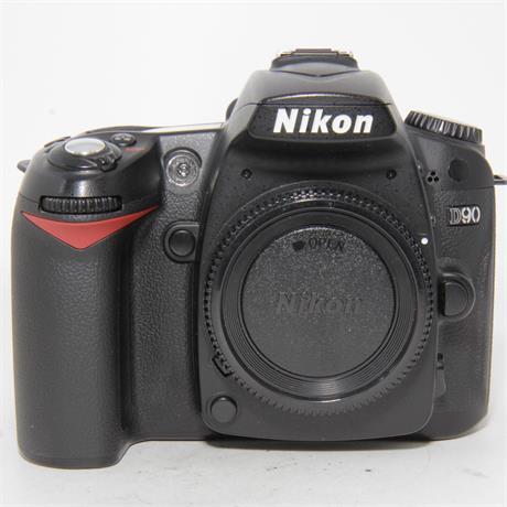 Used Nikon D90 Body Boxed Image 1